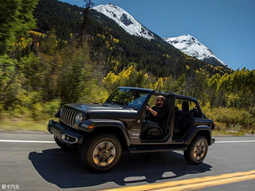 Jeep牧马人电动敞篷版上市 售47.9万元