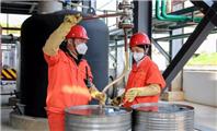 """国内首批液体有机储氢材料——""""储油""""在湖"""